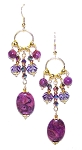 Captivating Charm Earrings Beaded Jewelry Making Kit