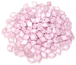 5 Grams of MINI DiamonDuo 2-Hole Czech Glass 4x6mm Beads - Chalk Lila Luster