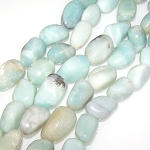 1 Strand of Semiprecious Gemstone Large Nugget Beads - Chinese Amazonite
