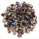 7.5 Grams of Czech 7mm Pinch Beads - Crystal Azuro