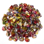 7.5 Grams of Czech 7mm Pinch Beads - Crystal Magic Apple