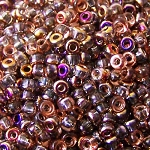 7.5 Grams Of Miyuki Czech Unions Size 8 Seed Beads - Crystal Sliperit