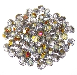4 Dozen Czech 6mm Fire-Polished - Crystal Marea