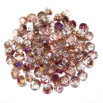 4 Dozen Czech 6mm Fire-Polished - Crystal Sliperit
