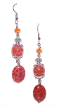 DragonStone Earrings Beaded Jewelry Making Kit