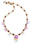 Fairy Blossoms Necklace Beaded Jewelry Making Kit