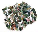 1 Strand of Semiprecious Gemstone Chip Beads - Fancy Jasper