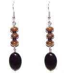 Fearless Tiger Earrings Beaded Jewelry Making Kit