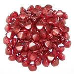 7.5 Grams of Czech 7mm Pinch Beads - Crystal GT Razzmatazz