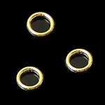 50 Gold-Plated CLOSED 6mm Jump Rings - 20 Gauge