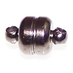 5 Gunmetal 7x12mm Super Strong Magnetic Clasps