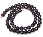 100 - 8mm Round Non-Magnetic Hematite Beads