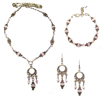 Iridescent Rose Beaded Jewelry Making Set