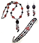Jasper Embers Beaded Jewelry Making Set