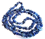 1 Strand of Semiprecious Gemstone Chip Beads - Kyanite
