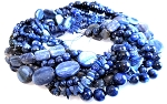 Kyanite Semiprecious Gemstone Beads - 10 Strand Set