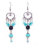 Moons Embrace Earrings Beaded Jewelry Making Kit