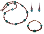 Mountain Sunset 3-Piece Beaded Jewelry Making Set