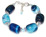 Ocean Currents Bracelet Beaded Jewelry Making Kit