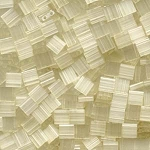 7.5 Grams of TILA 5mm Beads - Silk Pale Light Yellow