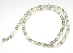 1 Strand of 4mm Round Semiprecious Gemstone Beads - PEACE JADE