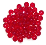 50 Czech Glass 8mm Smooth Round - Siam