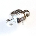 5 Silver-Plated 7x12mm Super Strong Magnetic Clasps