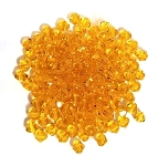 25 Sun Burst 6mm Glass Crystal Bicones