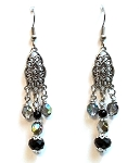 Twilight Shadows Earrings Beaded Jewelry Making Kit