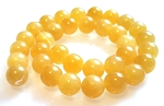 6 Calcite 12mm Round Semiprecious Gemstone Beads