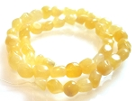 1 Strand of Calcite 7x10mm Irregular Nuggets Semiprecious Gemstone Beads