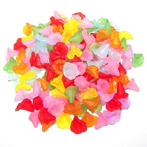 Assorted Style #1 Flower Beads