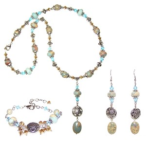 Beach Getaway Beaded Jewelry Making Set