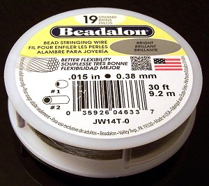 30ft of Beadalon Beading Wire