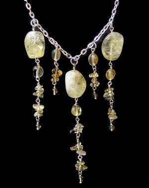 Citrine Dreams Necklace Beaded Jewelry Making Kit