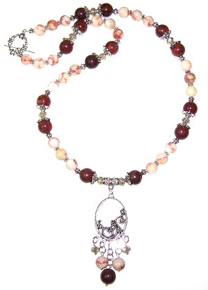 Divine Gemstones Necklace Beaded Jewelry Making Kit