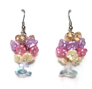 Fairy Blossoms Earrings Beaded Jewelry Making Kit