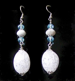 Frozen Atmosphere Earrings Beaded Jewelry Making Kit