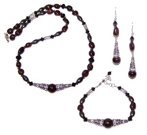 Mysterious Shadows Beaded Jewelry Making Set