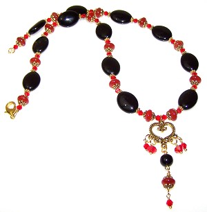 Suns Devotion Necklace Beaded Jewelry Making Kit