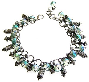 Crystal Galaxy Bracelet Beaded Jewelry Making Kit