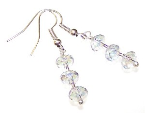 Crystal Magic Earrings Beaded Jewelry Making Kit