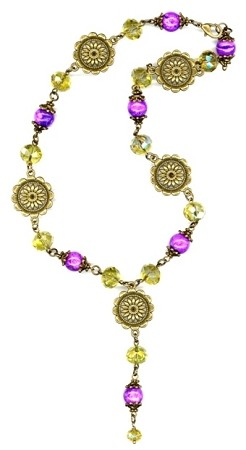 Enchanting Sunshine Necklace Beaded Jewelry Making Kit
