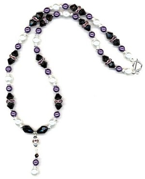 Grape Sensation Beaded Jewelry Making Set