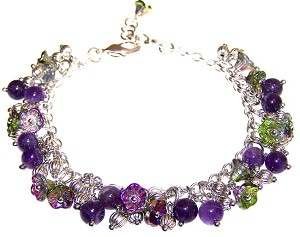 Magic Orchid Bracelet Beaded Jewelry Making Kit