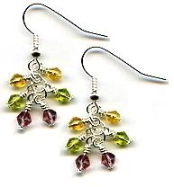 Multi-Drop Earrings Beaded Jewelry Making Kit