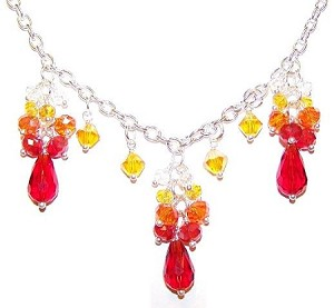 Sunny Rays Necklace Beaded Jewelry Making Kit